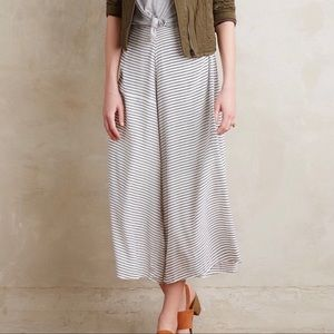Anthropologie/Faithful the Brand Striped Culottes